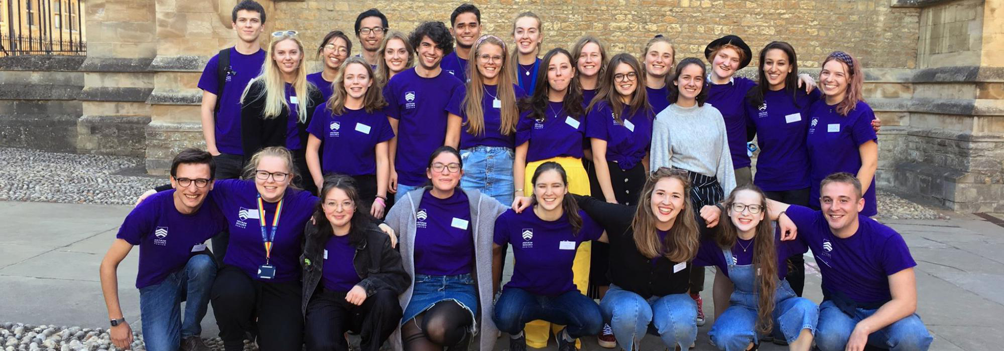 The Student Ambassador team in 2019