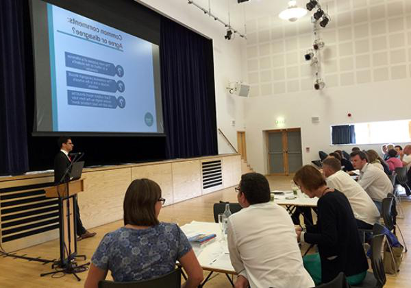 The 2016 Dorset Teachers HE Conference, held at Queen Elizabeth's School in Wimborne Minster