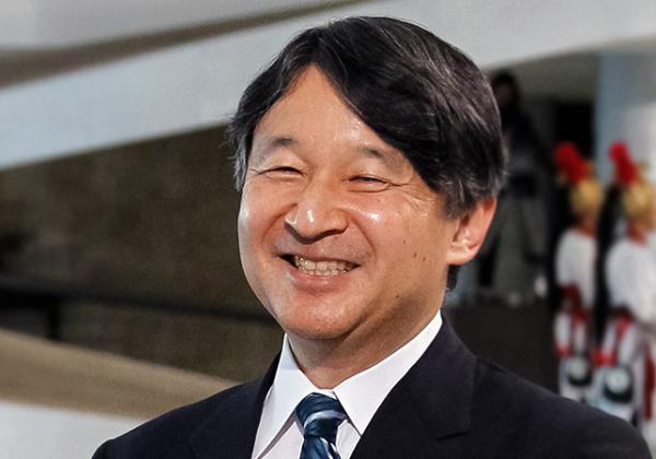 Naruhito, photographed in 2018 - © Michel Temer [CC BY 2.0]