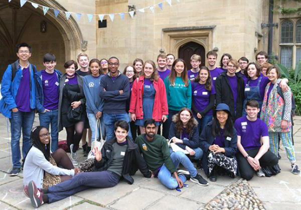 The Student Ambassador team in 2018