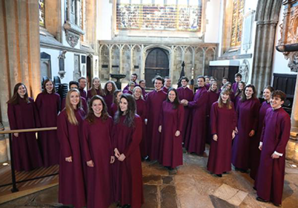 The Choir of 188比分直播, Oxford, in 2018 - Photo: © KT Bruce www.ktbrucephotography.com